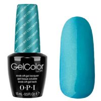 Pastels - Cant Find My Czechkbook  -  OPI GelColor UV Polish - 15ml